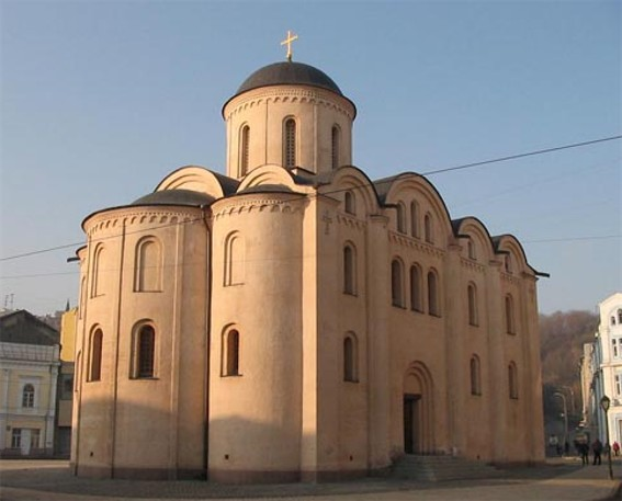 Image - The Pyrohoshcha Church of the Mother of God in Kyiv (rebuilt in 1998).