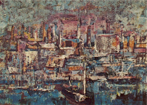 Image - Myroslav Radysh: An Old Port (1954).