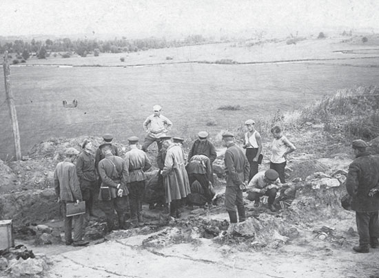 Image - Raiky fortified settlement excavations (1930s).