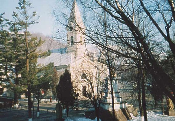 Image - A Roman Catholic Church in Rakhiv.