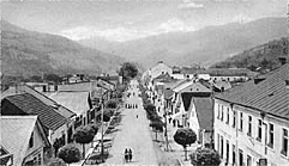 Image - Rakhiv in the early 20th century.