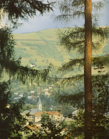 Image - A panorama of Rakhiv.
