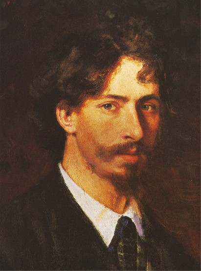 Image - Ilia Repin: Self-Portrait (1878).