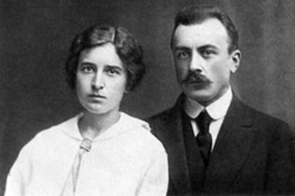 Image - Lev Revutsky with his wife.