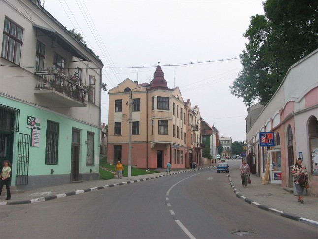 Image - Rohatyn: a street in town centre.