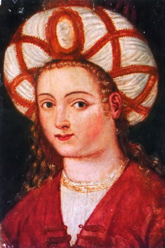 Image - Roksoliana, the wife of Sultan Suleyman the Magnificient (16th-century portrait).