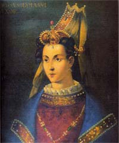 Image - Roksoliana, the wife of Sultan Suleyman the Magnificient.