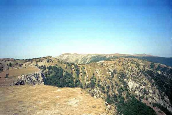 Image - The summit of Mount Roman-Kosh in the Crimean Mountains.