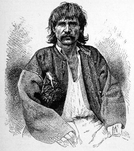 Image -- А Romanian man from Podilia (1870s).