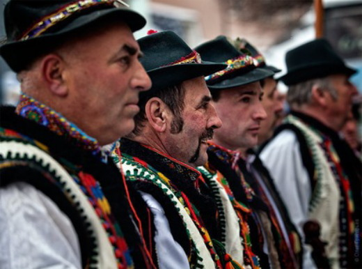 Image - Romanians in Transcarpathia.