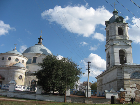 Image - Romny: The Assumption Church complex (1753-97).