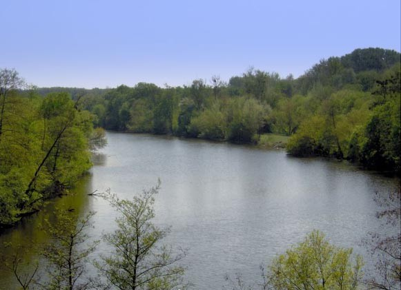 Image - The Ros River near Bila Tserkva.
