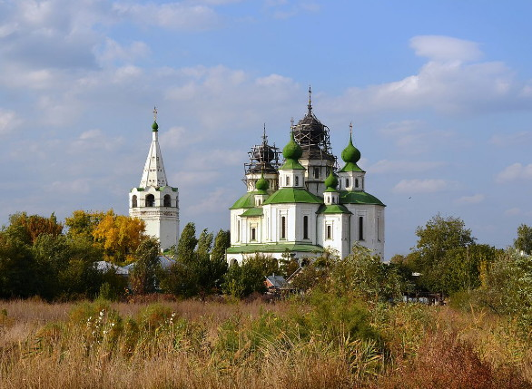 Image -- Rostov oblast: the Resurrection Church in Stanytsia Starocherkaska.