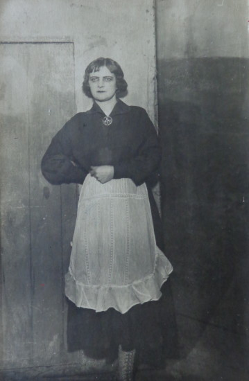 Image - Kateryna Rubchak as Sarah in I. Tohobochny's play.