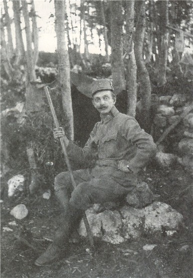 Image - Ivan Teodor Rudnytsky at the Italian front during the First World War (1915).