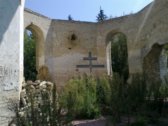 Image - Ruins of the Rzhyshchiv Transfiguration Monastery.