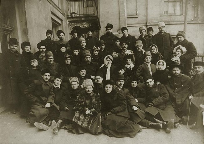 Image - Actors of Mykola Sadovsky's Theatre (ca 1910).