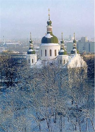 Image - Saint Cyril's Church in Kyiv.