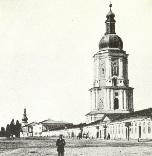 Image - The bell tower of Saint Nicholas's Military Cathedral (1920s).