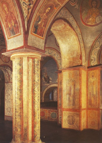 Image -- The Saint Sophia Cathedral (interior, upper level).