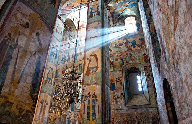 Image - Saint Sophia Cathedral in Kyiv: frescos.