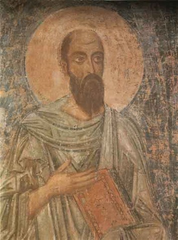 Image - Saint Sophia Cathedral frescos: Saint Paul.