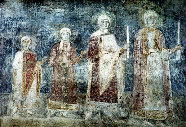Image - Saint Sophia Cathedral frescos: the family of Yaroslav the Wise.