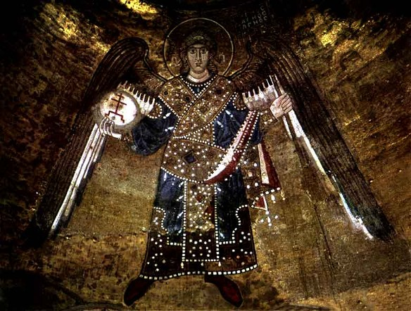 Image - Mosaics of Saint Sophia Cathedral: Archangel.