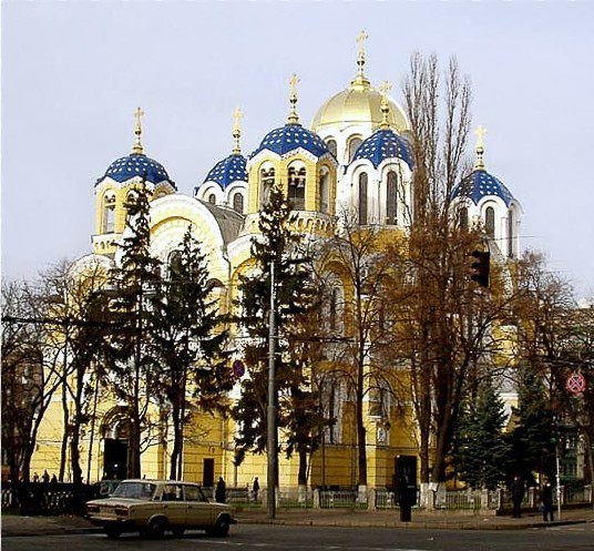 Image - Saint Volodymyr's Cathedral in Kyiv.