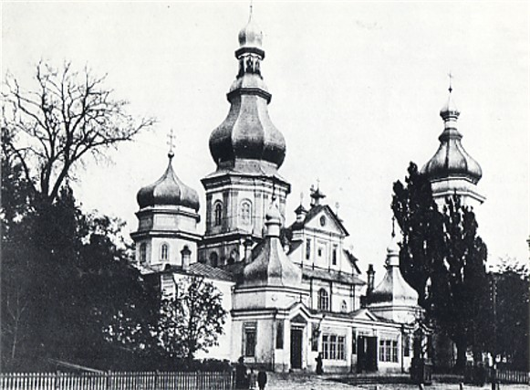 Image - Saint Nicholas's (Small) Monastery in Kyiv (1920s photo; demolished in the 1930s).