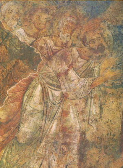 Image - Saint Sophia Cathedral fresco: Sending the Apostles to Preach the Gospel (fragment).