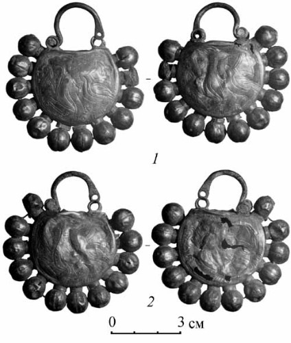 Image - Archeological finds from the Sakhnivka settements.