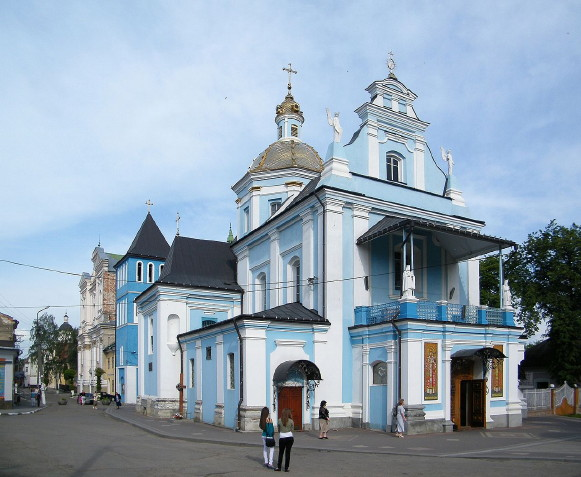 Image - The Nativity of the Theotokos Cathedral in Sambir, Lviv oblast.