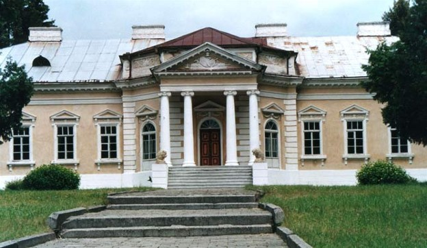 Image -- Palace in the village of Samchyky in Podilia.
