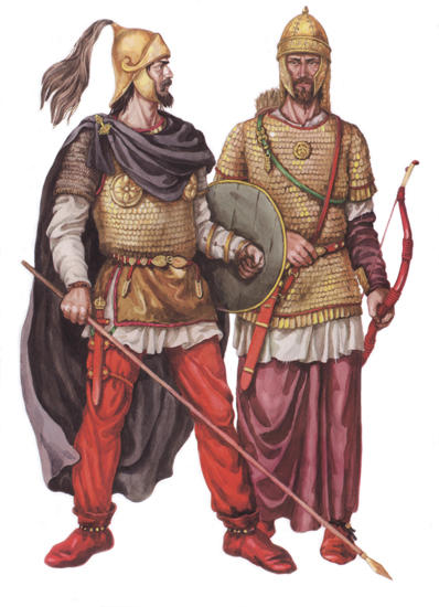 Image - Sarmatian warriors (reconstruction).