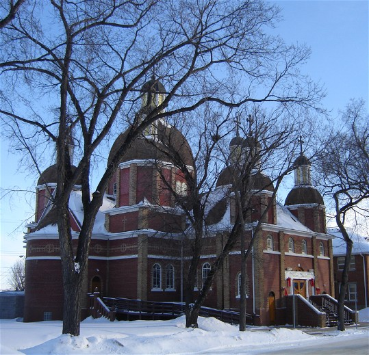 Image - Saint Georges Ukrainian Catholic Church in Saskatoon, Saskatchewan.