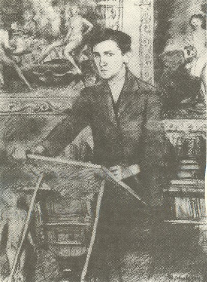 Image - Bruno Schulz: Self-portrait (1919).