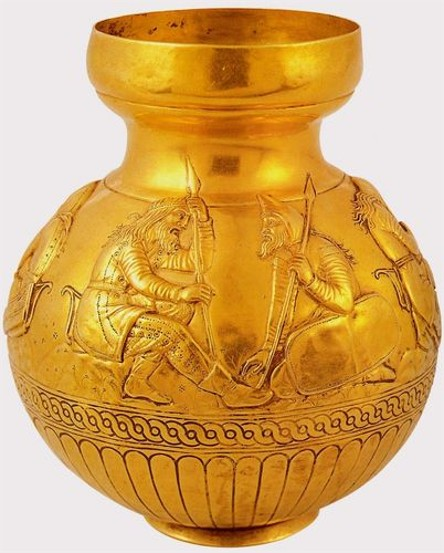 Image - A Scythian gold bowl from the Kul Oba kurhan.