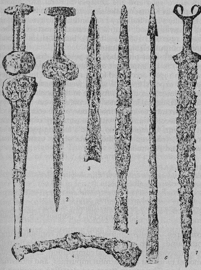 Image - Scythian iron weapons (6th to 4th-century BC).