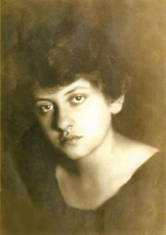 Image - Margit Reich (later Selska) (1917)