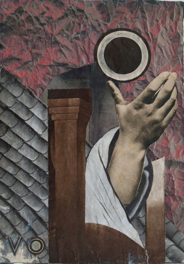 Image - Margit Selska: Composition with a Hand (1932).