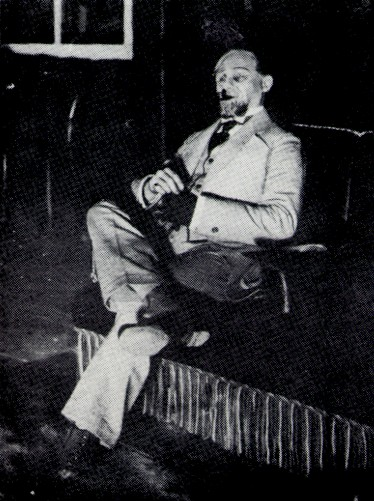 Image - Semen Semdor in the production of G. B. Shaw's Candida in the Molodyi Teatr (1918).