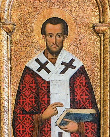 Image - Fedir Senkovych: Icon of Saint John Chrysostom.