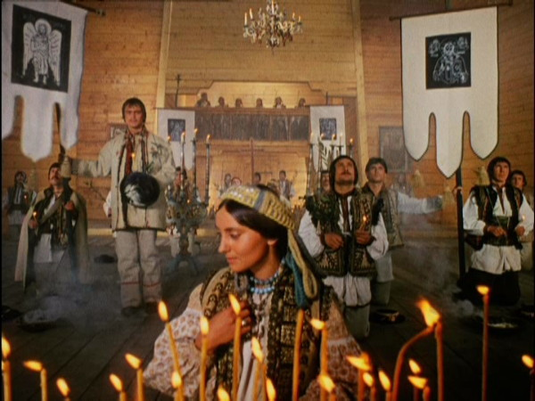Image - A scene from the film Shadows of Forgotten Ancestors, directed by Serhii Paradzhanov (Sergei Parajanov).