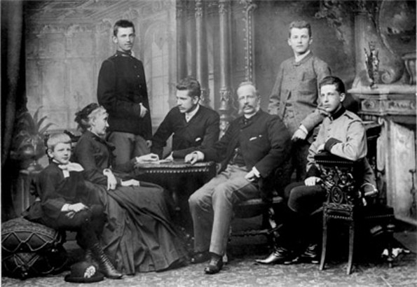 Image - The Sheptytsky family (1880s photo).