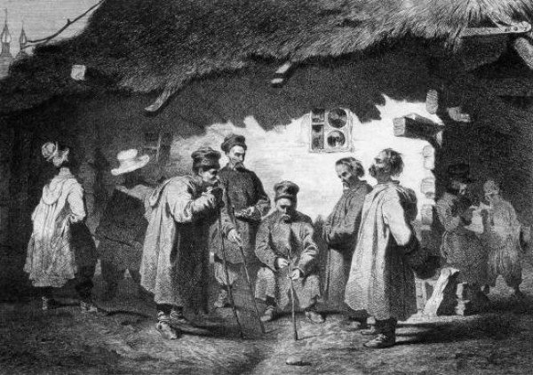 Image - Taras Shevchenko: Village Court Council (1844).