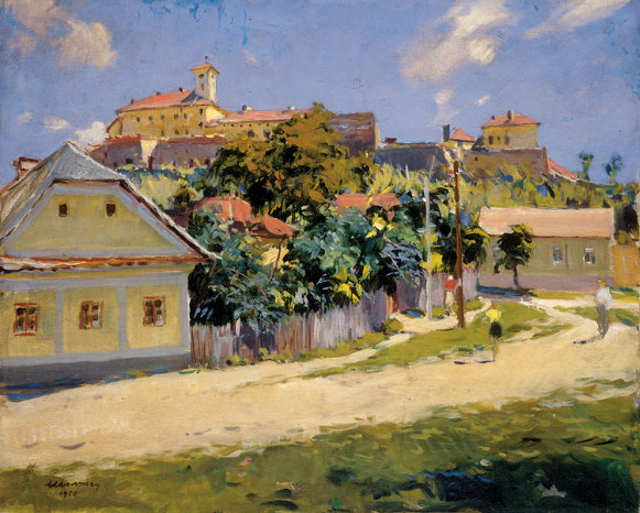 Image - Zoltan Sholtes: Near the Uzhhorod Castle.