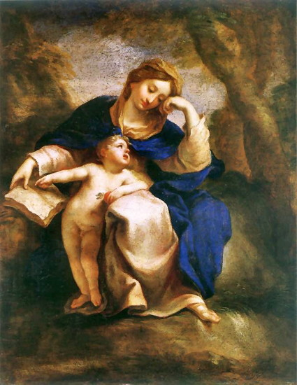 Image - Yurii Shymonovych-Semyhynovsky: Madonna with a Child.