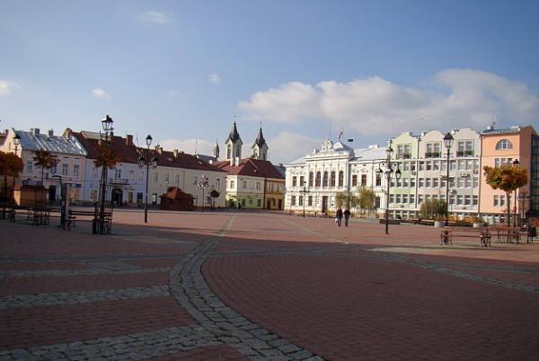 Image -- Sianik (Sanok): city center.