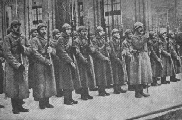 Image - The Sich Riflemen in Kyiv.